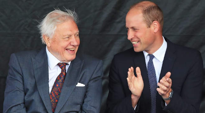 Prince William és Sir David Attenborough